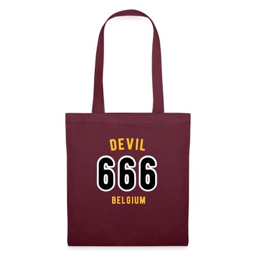 666 devil Belgium - Tote Bag