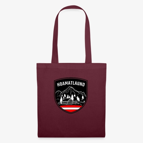 Hoamatlaund logo - Stoffbeutel