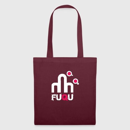 T-shirt FUQU logo colore bianco - Borsa di stoffa
