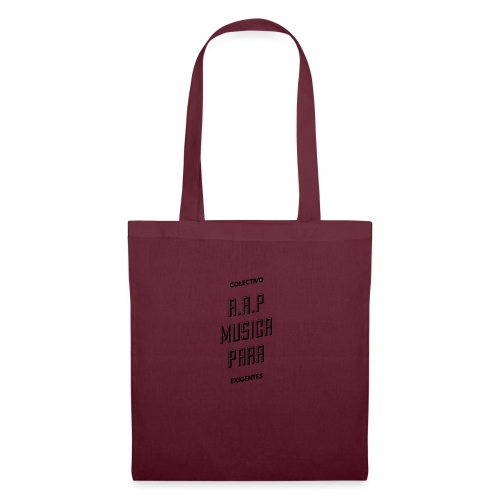 SOLO PARA AMANTES DEL RAP// Colectivo R.A.P - Bolsa de tela