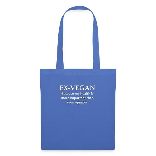 Ex-Vegan - Tote Bag