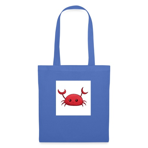 Cute little red Crab, nursery wall art decor - Borsa di stoffa