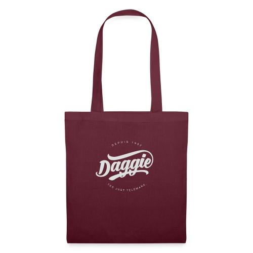 Daggies LOGO Serigraphie blanc - Tote Bag