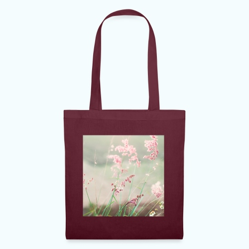 Summer meadow watercolor nature - Tote Bag