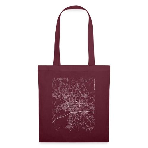 Minimal Tuscaloosa city map and streets - Tote Bag