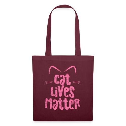 Cat Lives Matter Katzen sind auch wichtig - Stoffbeutel