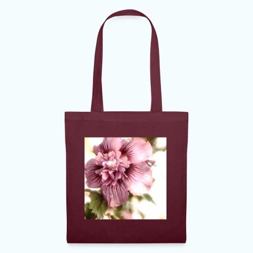 Pink flower watercolor minimalism - Tote Bag