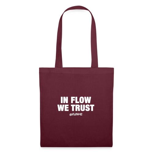 IN FLOW WE TRUST - Borsa di stoffa