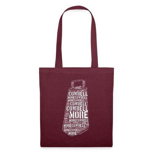 More Cowbell (White) - Tote Bag