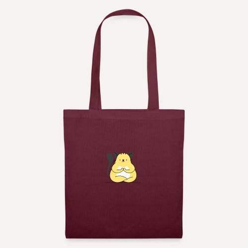 Cat Yoga Pose Print Design, Hoodie Other Apparels - Tote Bag