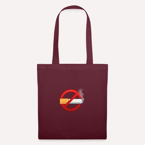 No Smoking Print Design T-shirt And Other Apparel - Tote Bag