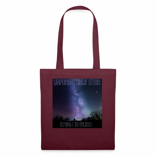 Brian English - Unforgettable Star - Tote Bag
