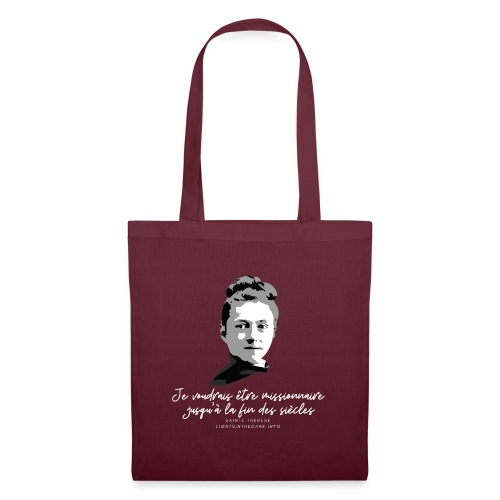 Sainte Therese patronne des missions - Tote Bag