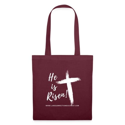 He is Risen ! V2 (Il est ressuscité !) - Sac en tissu