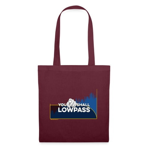 You shall Low Pass (Blue) - Tote Bag