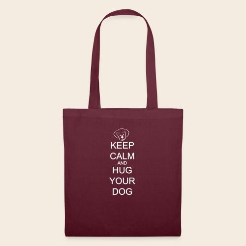 embrasse ton chien - Sac en tissu