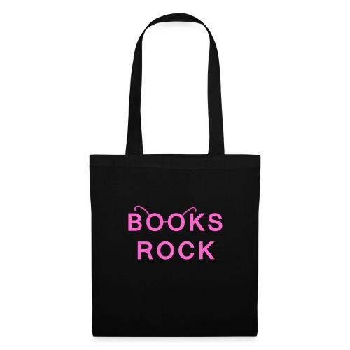 Books Rock Pink - Tote Bag