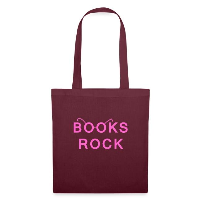 Books Rock Pink