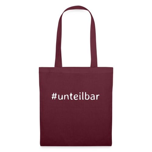 #unteilbar - Stoffbeutel
