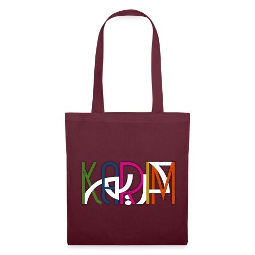 KARIM PRENOM ARABE COULEUR - Tote Bag
