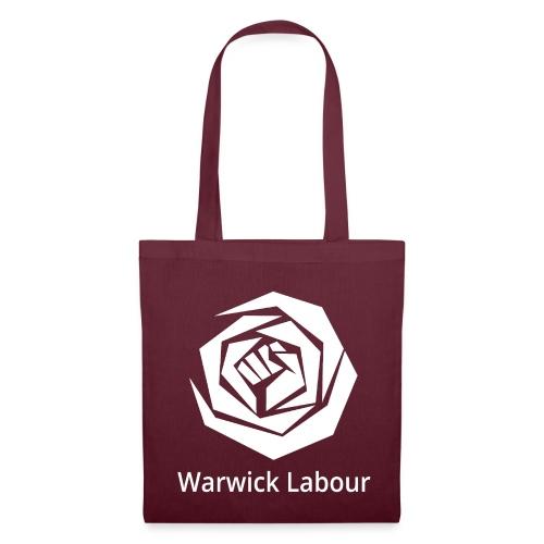 White Logo Merch - Tote Bag