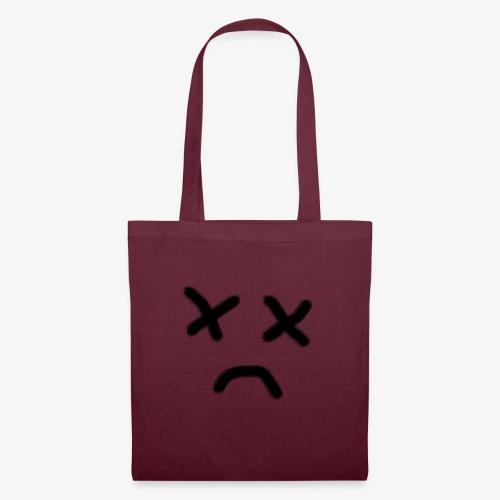 cara x triste 2 - Bolsa de tela