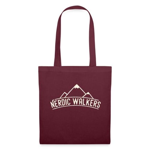Logo Nerdic Walking offwhite - Tote Bag