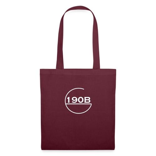190B G hoop white - Tas van stof