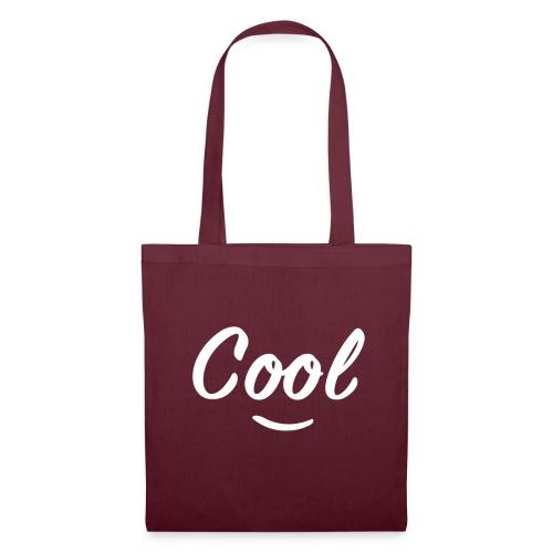 cool smily - Stoffbeutel