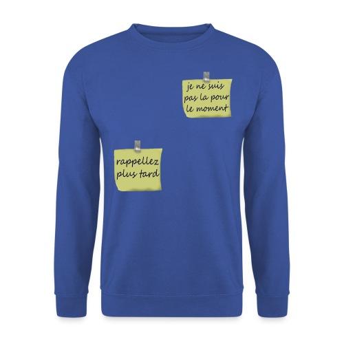 humoristique post-it - Sweat-shirt Homme