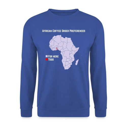 African Coffee Order Preferences - Männer Pullover