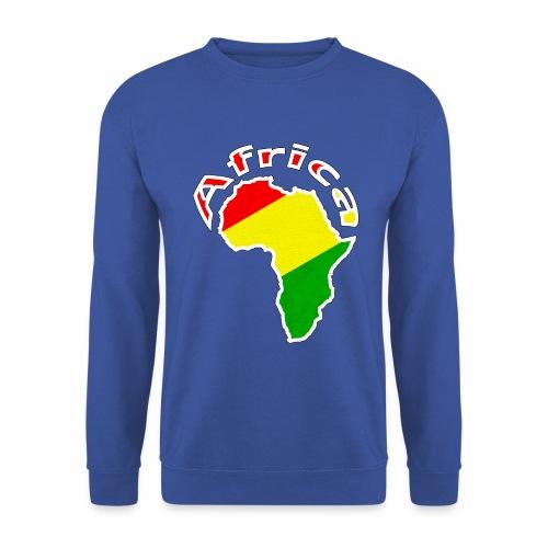 Afrika - rot gold grün - Männer Pullover