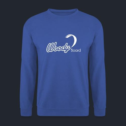Logo Woodyboard Blanc - Sweat-shirt Homme