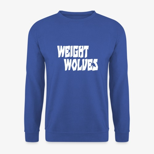 WEIGHT WOLVES FINAL WHITE - Männer Pullover