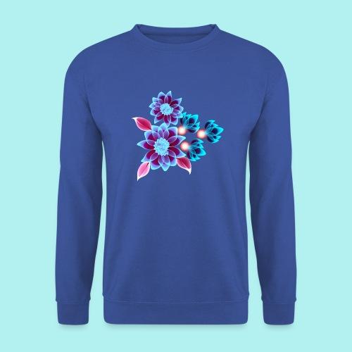 Hypnotic flowers - Sweat-shirt Homme