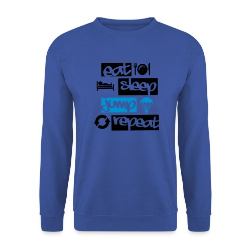 Eat Sleep Jump Repeat - Männer Pullover