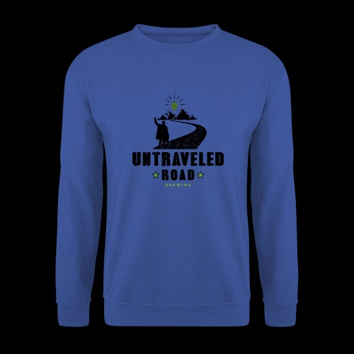 Untraveled Road Logo - black/small - Männer Pullover
