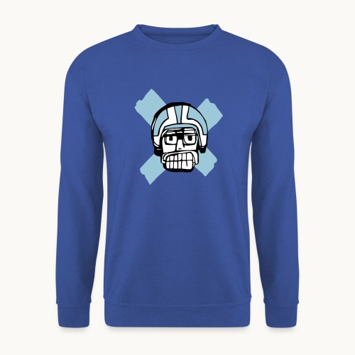 Motard Junior - Blue - Sweat-shirt Homme