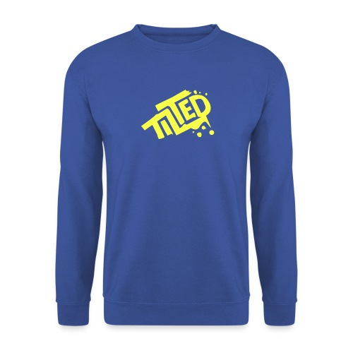 Fortnite Tilted (Yellow Logo) - Men's Sweatshirt