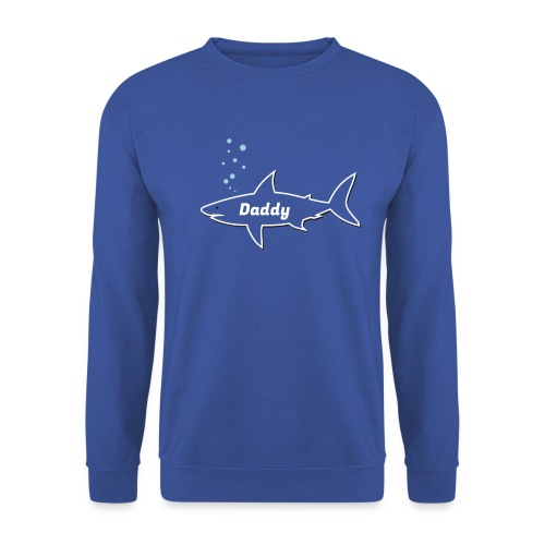 Daddy shark - matching outfit fathersday gift - Unisex Pullover