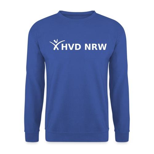 hvd nrw logo weiss transparent komplett - Unisex Pullover