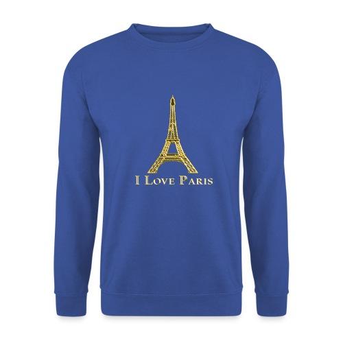 Design Paris I love paris - Sweat-shirt Unisex