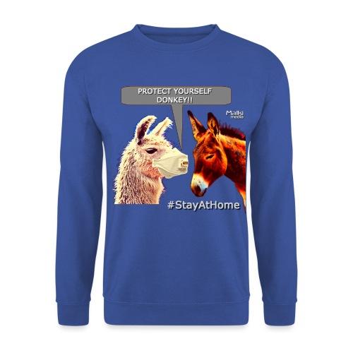 Protect Yourself Donkey - Coronavirus - Unisex Pullover