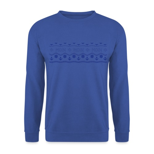 Muster Nordisch Maritim - Männer Pullover