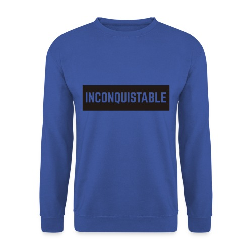 INCONQUISTABLE - Sudadera hombre