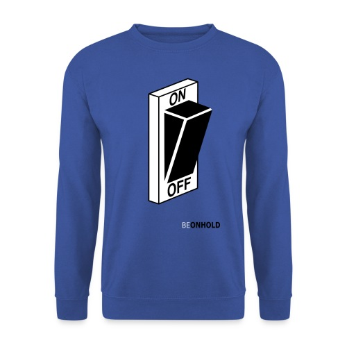 BEONHOLD.png - Mannen sweater