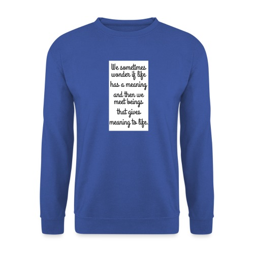 Phrase d'amour en anglais - Sweat-shirt Homme