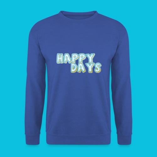 Happy Days png - Men's Sweatshirt