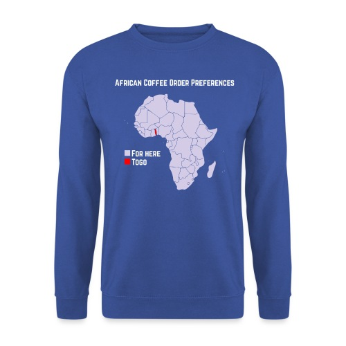 African Coffee Order Preferences - Unisex Pullover