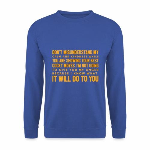 confidence - Herre sweater